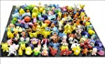1 SET PER LOTS 144PCS POKEMON ACTION...