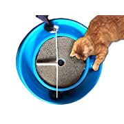 Cat Scratcher Toy with Catnip and Mouse Combo Set