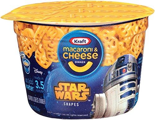 Kraft Easy Mac and Cheese Star Wars Shapes, Single