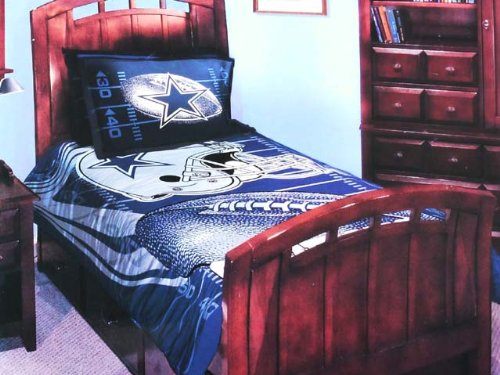 product name dallas cowboys twin full comforter set bedding
