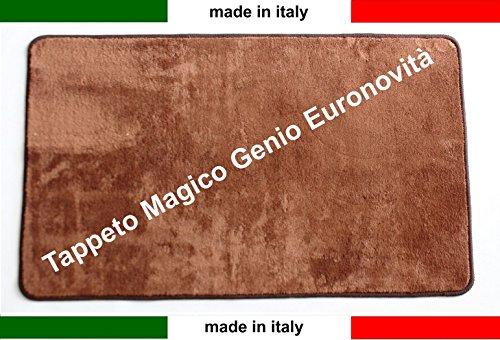 tappeto-magico-genio-50x80-vari-colori-antiscivolo-microfibrazerbinolavabile-euronovita-marrone