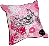 Harley-Davidson Don't Call Me Baby 18-by-18-Inch Decorative Pillow