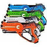Laser Tag Set for Kids Multiplayer 4 Pack