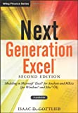 Isaac Gottlieb Next Generation Excel + Website: Modeling in Excel for Analysts and MBAs (for MS Windows and Mac OS) (Wiley Finance)