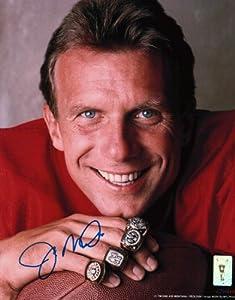 Joe Montana Signed 8X10 Photo Autograph 49ers Close-Up w Rings Auto Hologram by Joe Montana
