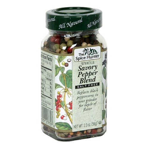 Spice Hunter Pepper, Savory Blend, Whole, 2-Ounce Unit (Pack of 4)