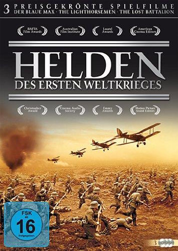 Helden des Ersten Weltkriegs - Preisgekrönte Spielfilme [3 DVDs]