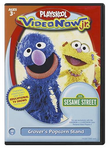 Videonow Jr. Personal Video Disc: Sesame Street #4