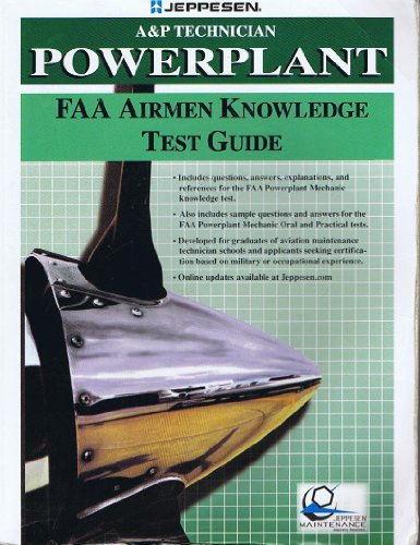 A&P Technician Powerplant FAA Airmen Knowledge Test Guide