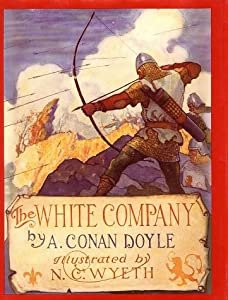 """Cover of """"The White Company (Books of Won..."""