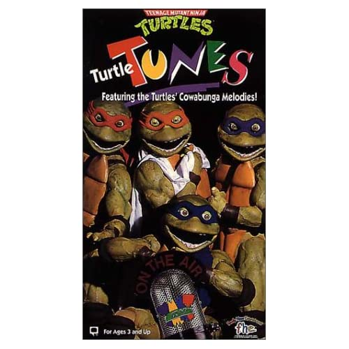 Turtle Tunes [VHS]