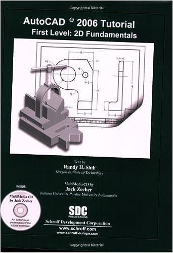 autocad 2006 tutorial first level 2d fundamentals pdf