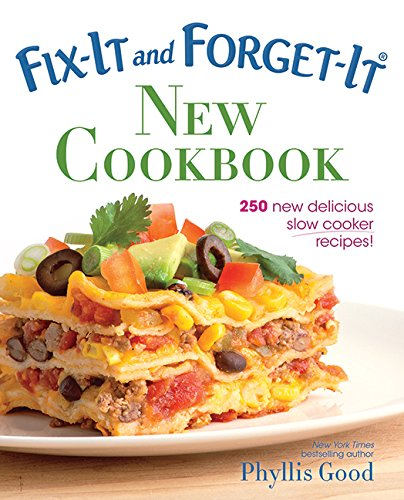 Fix-It and Forget-It New Cookbook: 250 New Delicious Slow Cooker Recipes! (Crock Pot Station compare prices)