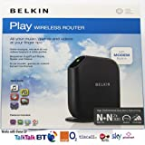 Belkin Modem-Router Wireless Play (F7D4402ED)