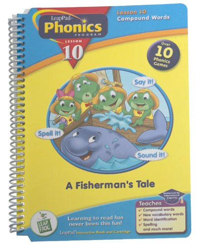 LeapPad Phonics Program Book #10: A Fisherman's Tale