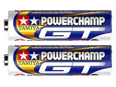 タミヤバッテリー & 充電器シリーズ パワーチャンプGT (12本) 55114