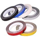 BMC 6pc Assorted Color Zig Zag Line Chevron Striping DIY Nail Art Tape Bundle