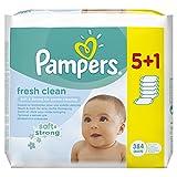 Pampers Feuchttücher Fresh Clean 2-Monatspack, 768 Tücher...