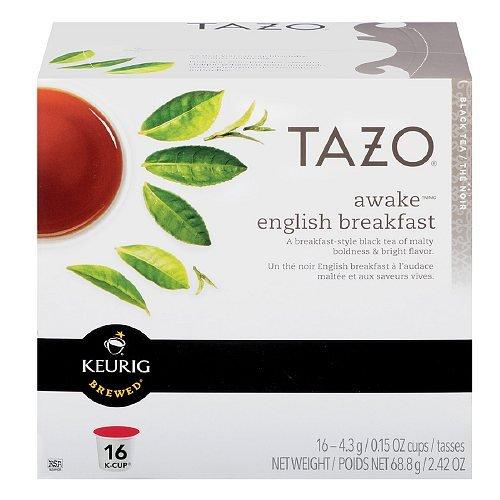 Tazo Awake English Breakfast Tea Keurig K-Cups, 16 Count front-219228