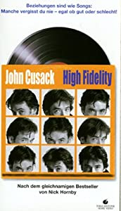 High Fidelity [VHS]