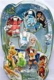 Disney Fairies Ribbon Hair Clips - Tinker Bell, Periwinkle, Fawn, Rosetta, Silvermist