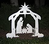516ZYFnY65L. SL160  Teak Isle Christmas Outdoor Nativity Set, Yard Nativity Scene: clearance christmas decorations