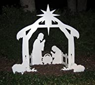 Teak Isle Christmas Outdoor Nativity…