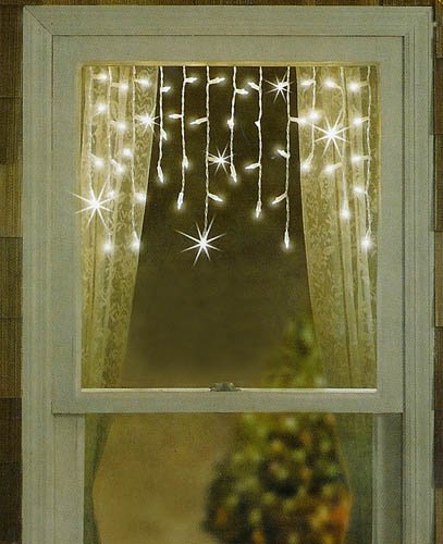 New ideas for christmas window decorations infobarrel for Window lights