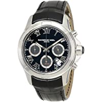 Raymond Weil Parsifal Automatic Black Dial Mens Watch