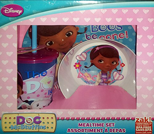Zak Designs Disneys Doc McStuffins Mealtime Gift Set