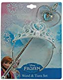 Disney Frozen Anna & Elsa Wand & Tiara Set