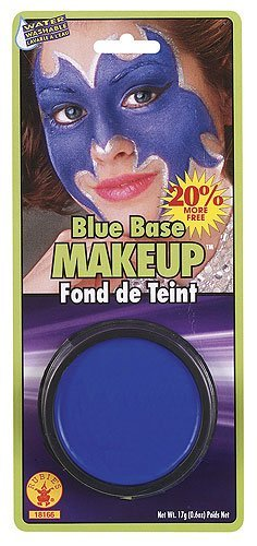 Imagen 1 de Blue Base Makeup Fancy Dress Face Paint Make-over Accy (maquillaje/ pintura de cara)