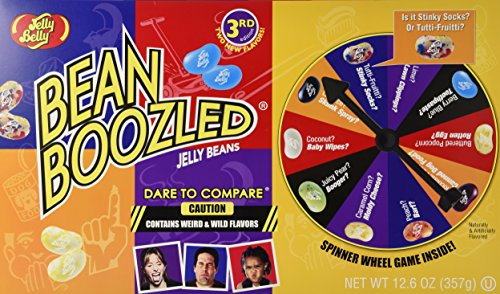 Jelly Belly Bean Boozled Jumbo Spinner 12.6 Ounces (Crazy Jelly Beans compare prices)