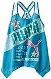 Puma Girls 2-6X Mesh Strap Drapey Tank