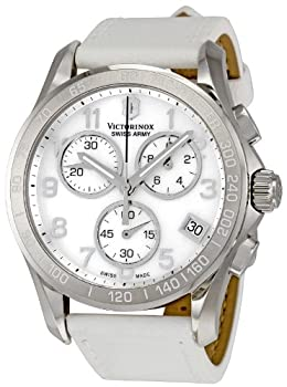 Victorinox Swiss Army Women's 241418 Classic White Mother-Of-Pearl Dial Watch from Victorinox Swiss Army
