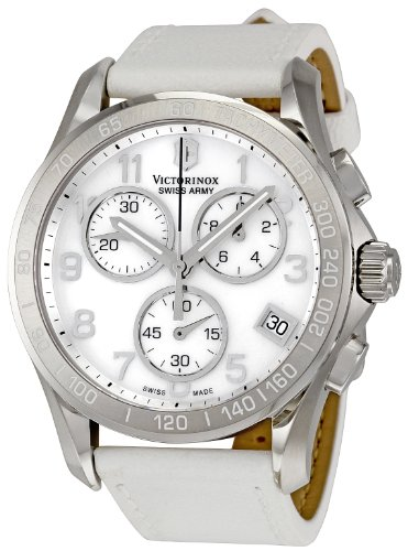 Swiss Watches:Victorinox Swiss Army Women's 241418 Classic White Mother-Of-Pearl Dial Watch Images