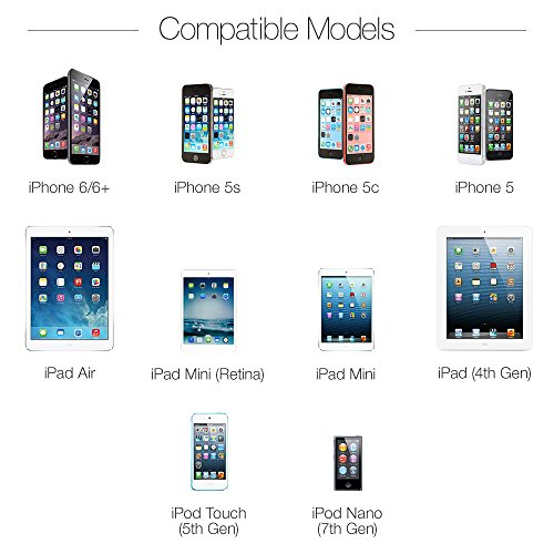 Apple认证,AmazonBasics 苹果 0.9米 充电数据线图片