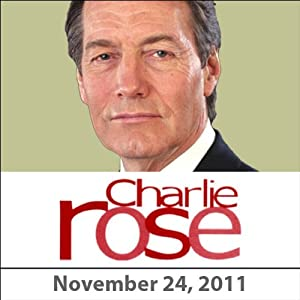 Charlie Rose: Simon Curtis, Michelle Williams, and Kenneth Branagh, November 24, 2011 Radio/TV Program