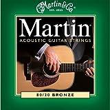 Martin �}�[�`�� �A�R�[�X�e�B�b�N�M�^�[�� 80/20 Bronze M-170 .010-.047 �G�N�X�g�����C�g �y�������K�i�z