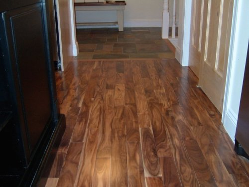 Asian Walnut Acacia Solid Prefinished Hardwood Wood Floor Flooring