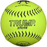 Trump® AK-EZ-40-NSA-Y AK-EZ Series 12 Inch Synthetic Leather .40 Core NSA Softball (Sold in Dozens)