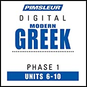 Greek (Modern) Phase 1, Unit 06-10: Learn to Speak and Understand Modern Greek with Pimsleur Language Programs |  Pimsleur