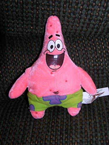 Spongebob Squarepants Small Plush Patrick Star Doll by Nanco - 1