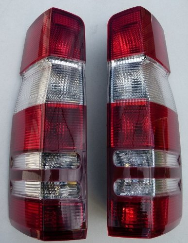 MERCEDES DODGE SPRINTER 2001 2002 2003 2004 2005 2006 LEFT TAIL LIGHT REAR RED