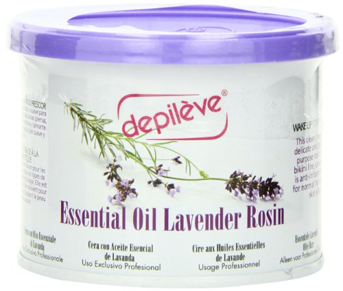 Depileve Essential Rosin Wax Oil, Lavender, 16 Ounce front-62572