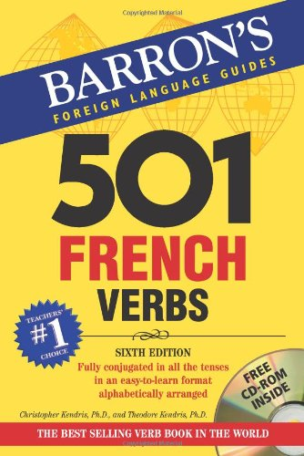 501 French Verbs: with CD-ROM (Barron's Foreign Language...