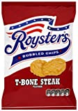 Roysters T-bone Steak Flavour Bubbled Chips 28 G (pack Of 48)