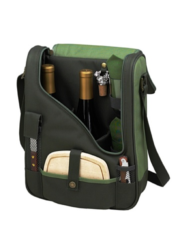 Cheapest Prices! Picnic at Ascot Eco Lux Wine and Cheese cooler , Green