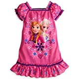 Disney Anna and Elsa Frozen Nightshirt Nightgown Pajamas