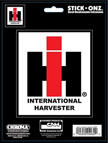 Chroma 009932 international harvester farmall logo stick for International harvester decor